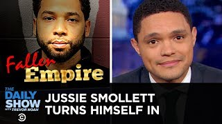 Jussie Smollett Turns Himself in to Police for Staging a Hate Crime | The Daily Show