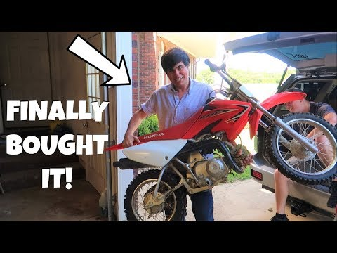 WE BOUGHT A NEW DIRTBIKE!