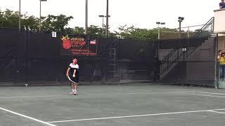 Alejandro Arcila Junior Orange Bowl B12s final