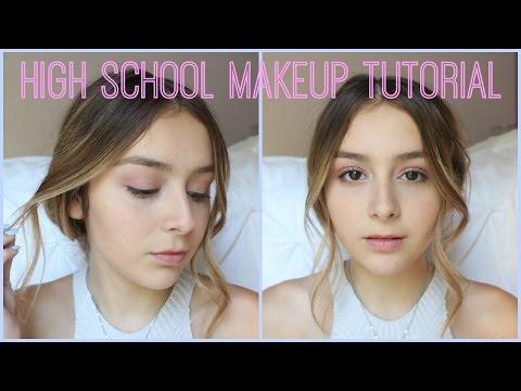 BTS: High School Makeup Tutorial // Daniella Ann