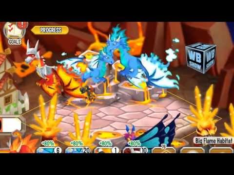 How to breed Cool Fire Dragon 100% Real! Dragon City Mobile!