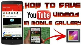 How to save youtube offline video direct to your SD card  offline