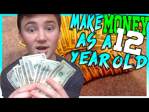 How To Make Money As A 12 Year Old