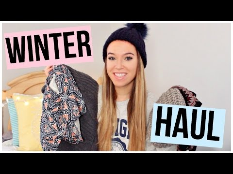 WINTER HAUL 2017: H&M, Abercrombie, Ulta, and more!