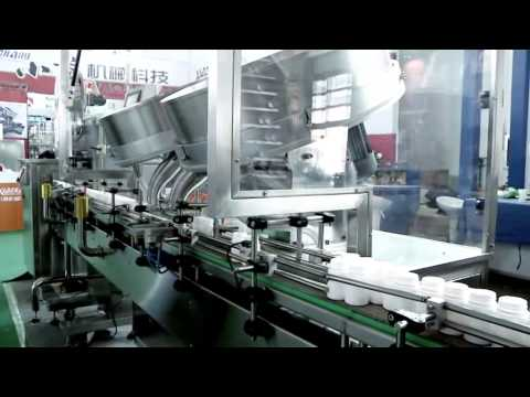 TABLET and CAPSULE BOTTLING LINE