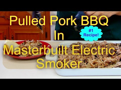 How To Make Pulled Pork BBQ Sandwiches in a Masterbuilt Electric Smoker