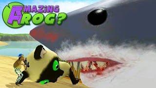 Amazing Frog - GIANT SHARK MEET GIANT KITTEN - Part 29