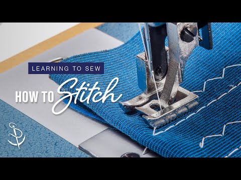 Learning to Sew Part 2: How to Stitch