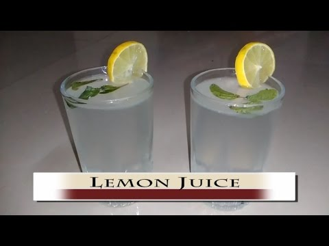 How to make Lime Juice || Fresh Lime Juice || Summer Drink || Fruit Juices || Lime juice recipe