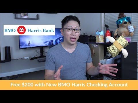 Free $200 w/ BMO Harris Checking Account