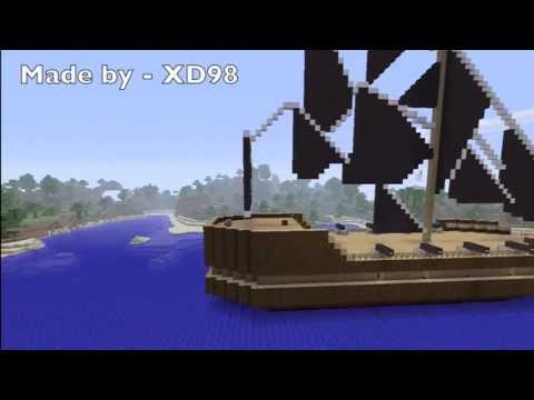 Minecraft Xbox 360 Edition : How to create a ship in MineCraft!