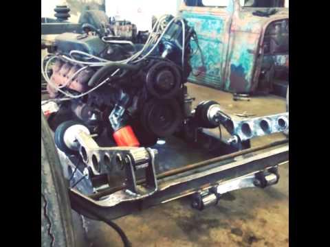 Rat rod front suspension