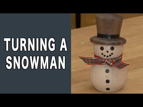 Turning A Snowman