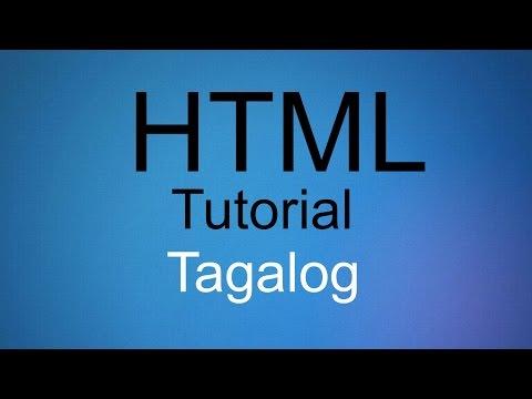 HTML Tutorial Tagalog - Part 5 (Image,Font color,BgColor,Links)
