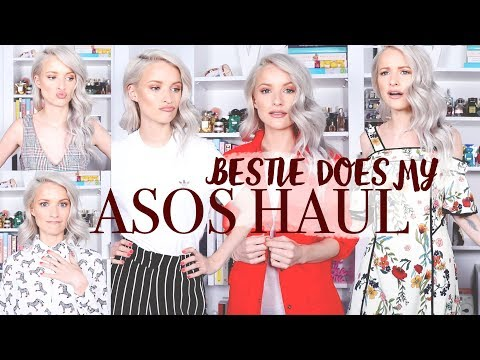 MY BESTIE DOES MY ASOS HAUL   ERM, WHAT DID SHE BUY ME?!