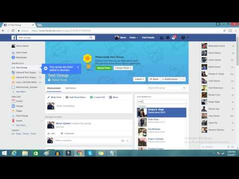 Create Facebook Group Page, Very Easy Step , How to do Group Chat on Facebook