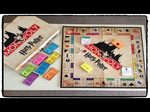 DIY | Harry Potter Monopoly