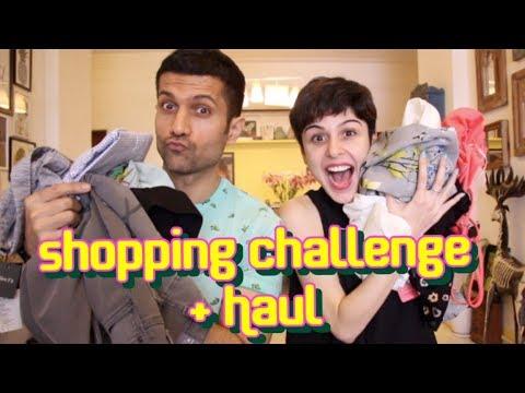 Giveaway || Shopping Challenge + Haul!