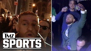 CONOR MCGREGOR -- Most Famous Irishman...PARTIES HARD ON ST. PATRICK