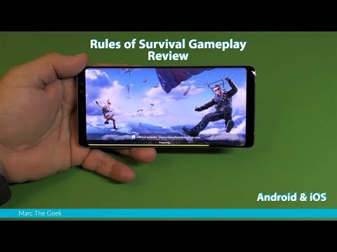 Rules of Survival Gameplay Review