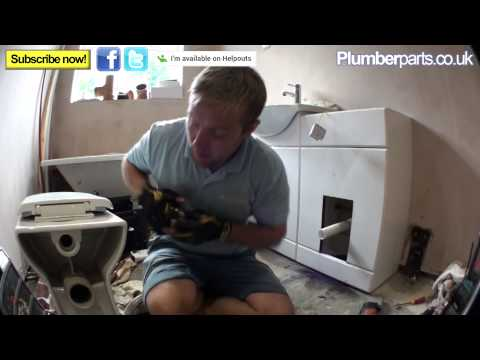 HOW TO INSTALL A CONCEALED TOILET CISTERN - Back To The Wall - Plumbing Tips