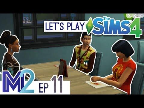Let's Play The Sims 4 - Socially Awkward (Eden-Cho Season 3 Ep 11)