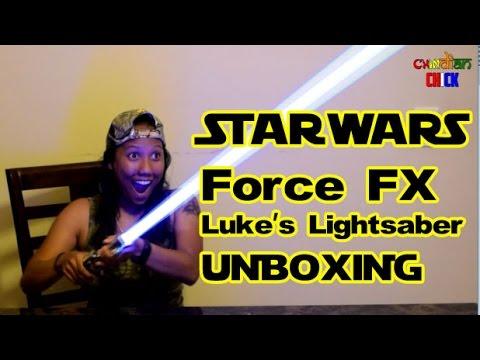Starwars Force FX Lightsaber Luke Skywalker Blue from Hasbro