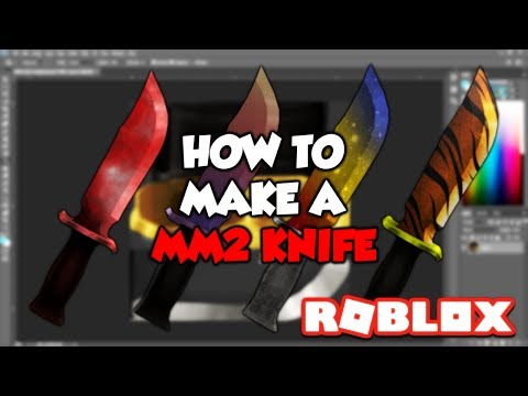 HOW TO MAKE YOUR OWN MM2 KNIFE!!! (Roblox Tutorial)