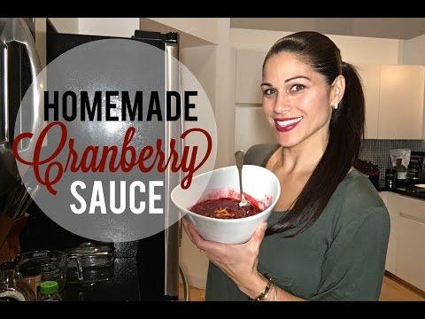 Healthy Homemade Cranberry Sauce