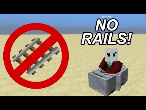 Minecarts Without Rails! - Minecraft 1.11+ Bug Tutorial
