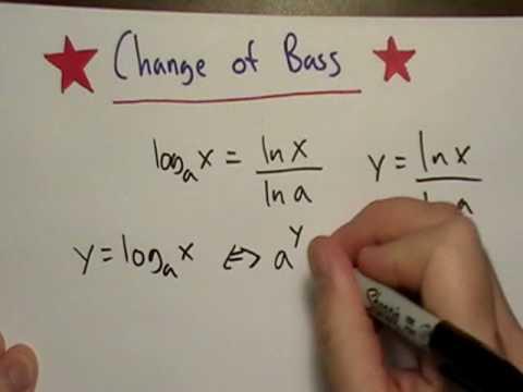 Logarithm Change of Base Formula
