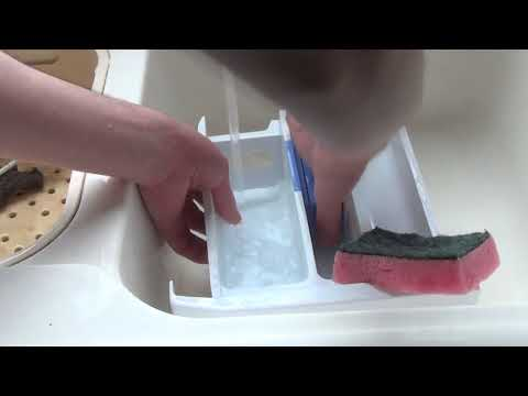 How to : Remove and Clean your detergent draw on a Beko Excellence Washing Machine.