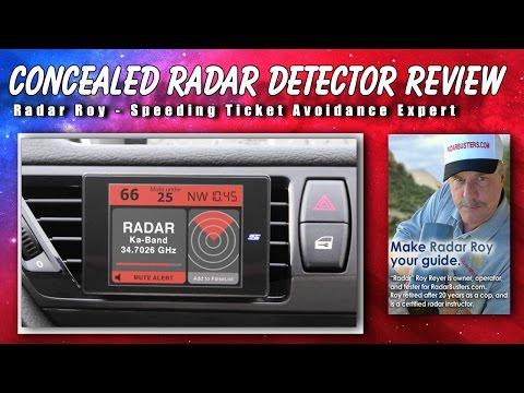 Concealed Radar Detector Review