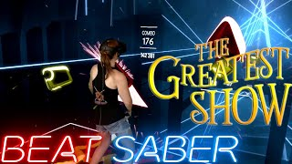 Beat Saber || The Greatest Show - Panic! at the Disco (Official Music Pack) Expert+ || Mixed Reality
