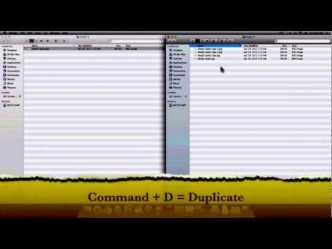 Copy A File With Mac OS X Lion