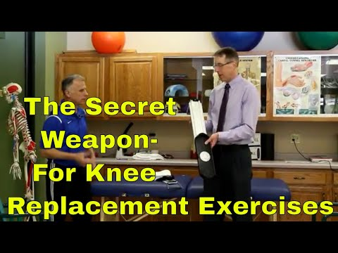 The Secret Weapon for Knee Replacement Exercises & Stretches (Pre & Post Surgery)