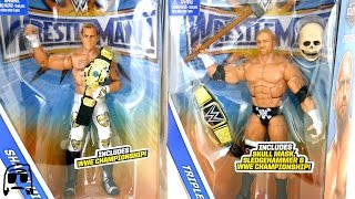 Ringside Collectibles WWE Wrestlemania 33 Triple H & Shawn Michaels Elite Package Unboxing!!