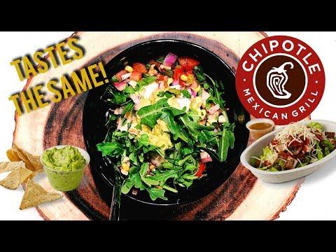 DIY Chipotle Mexican Inspired Burrito Bowl Recipe (Bri Hall)