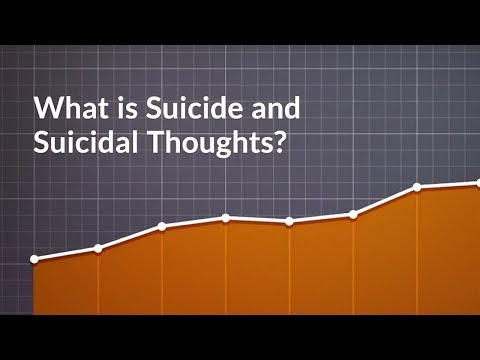 What is Suicide and Suicidal Thoughts? (Intentionally Taking One's Life)