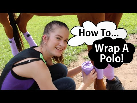 How To Wrap A Polo!