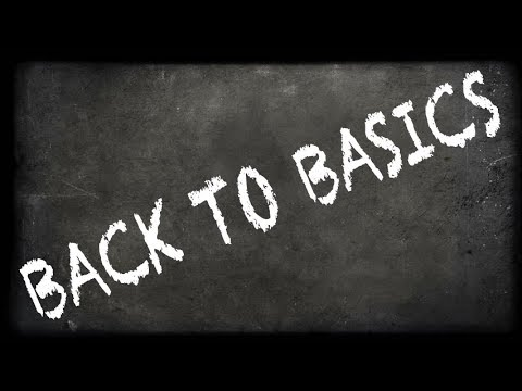 WHEN THINGS GO WRONG... GO BACK TO THE BASICS - THINK ABOUT YOUR BUSINESS GOALS - STRATEGY EXECUTION