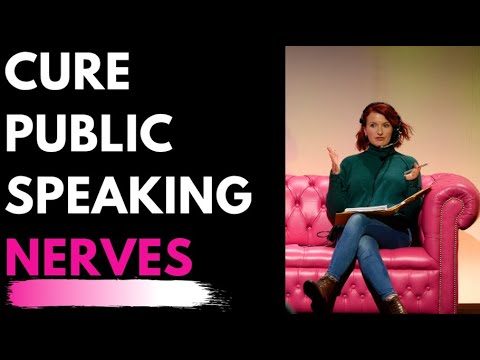 Nervous Presenting & Public Speaking? - How to Cure & Improve Performance Tips