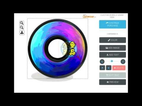 How to customize your own skateboard wheels!