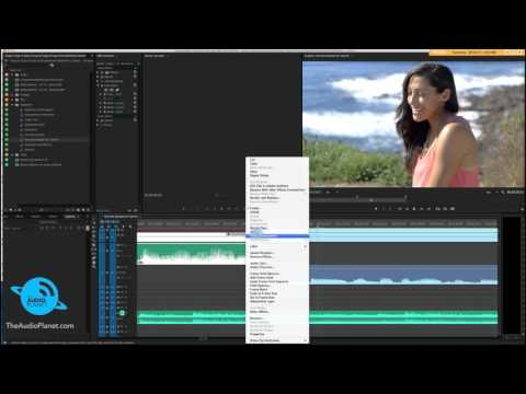 Smooth Audio Transitions - Audio in Premiere