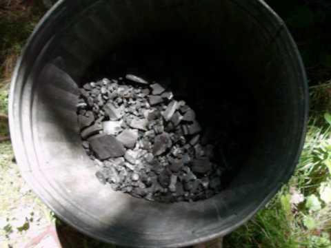 How i make charcoal