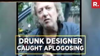 Rohit Bal Creates Ruckus after being drunk
