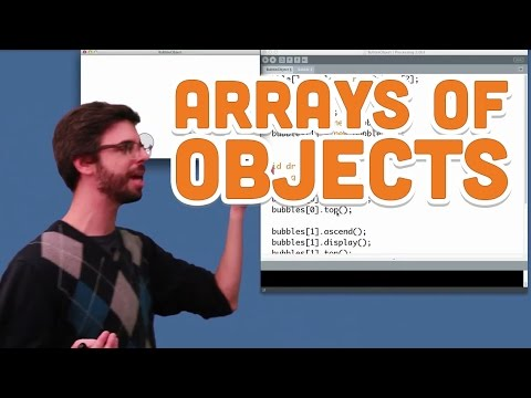 9.3: Arrays of Objects - Processing Tutorial