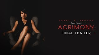Tyler Perry's Acrimony (2018 Movie) Final Trailer – Taraji P. Henson