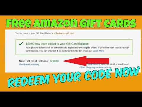 How to get Free Amazon Gift Cards Codes (100% Working)