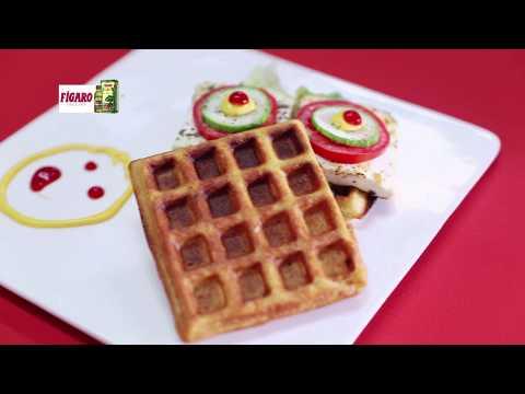 Waffle Sandwich Figaro | Chef Amrita Raichand | FoodFood